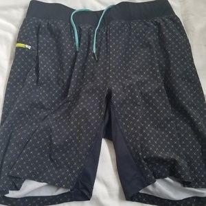 Men's Lululemon Shorts with boxer brief liner